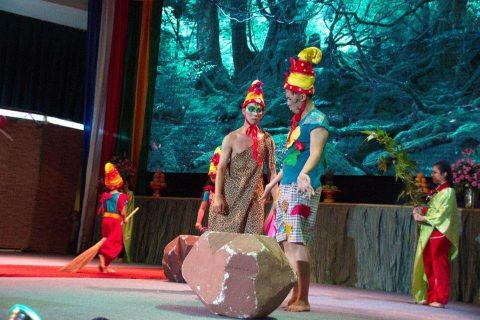 PERAYAAN OLD AND NEW MENYAMBUT TAHUN BARU 2018 DAN FESTIVAL 108 HIDANGAN VEGETARIAN