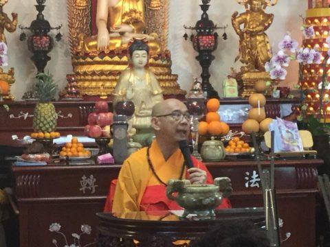 Upacara Peringatan 12 Tahun Nirvana Y.M. Bhiksuni Ming Zhandi SHENG NEN Temple USA